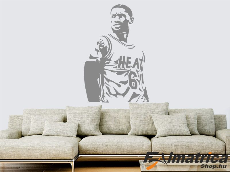 43. LeBron James Miami Heat falmatrica