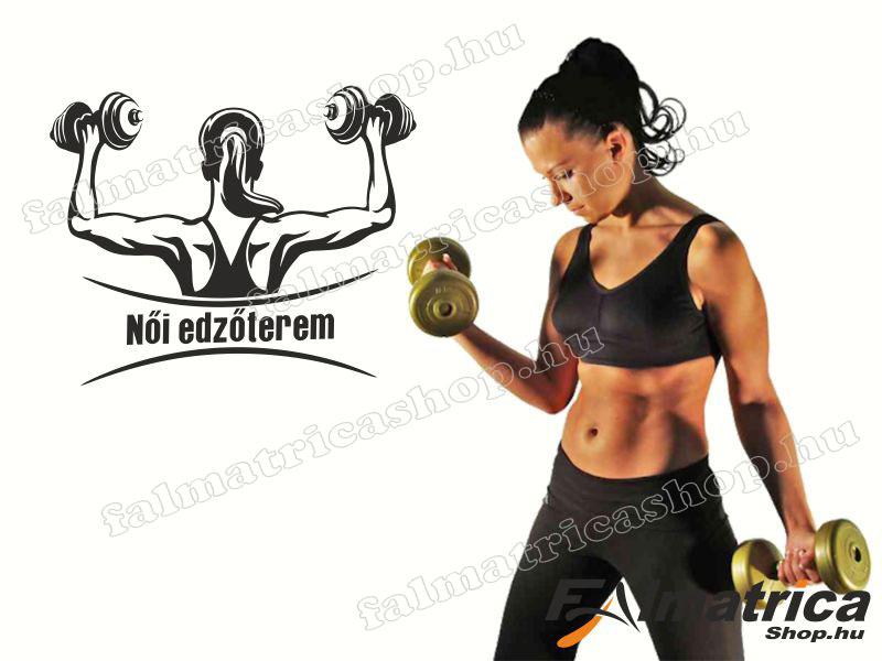 108. Falmatrica női edzőterembe