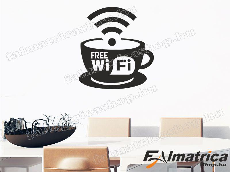 16. Kávés wifis falmatrica