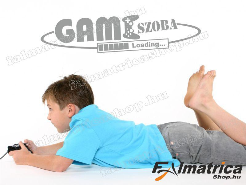 45. Gamer szoba falmatrica