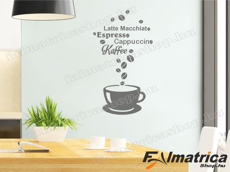 Kávés falmatrica