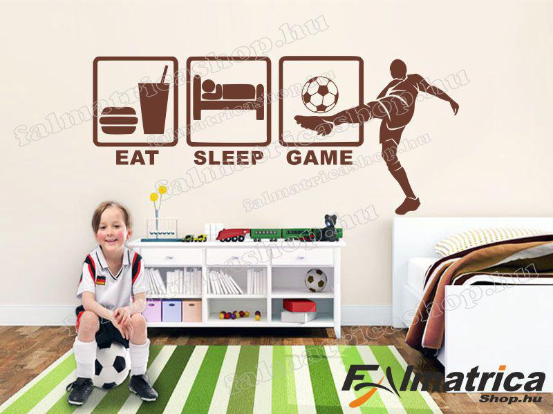 Eat, sleep, game focis falmatrica