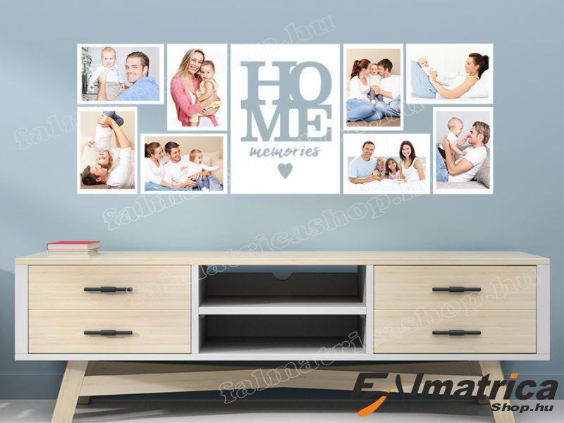 09. Otthoni emlékek falmatrica saját képekkel