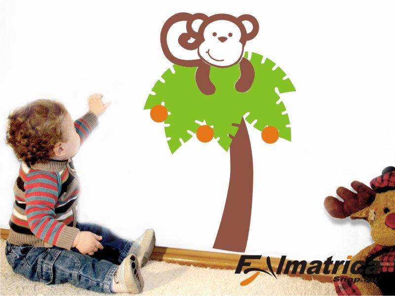 06. Majmocska a fán falmatrica