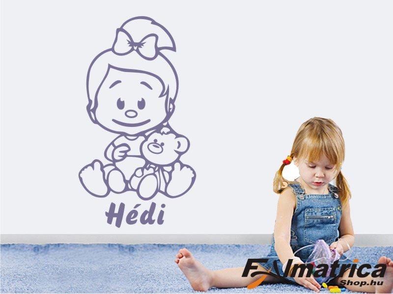 45. Kislány falmatrica névvel