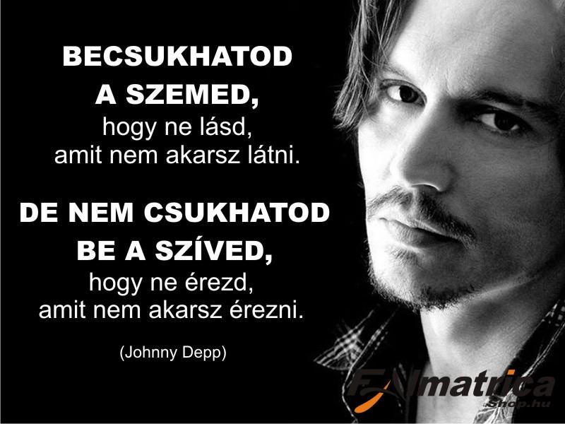 17. Johnny Depp idézet <b>falmatrica</b>