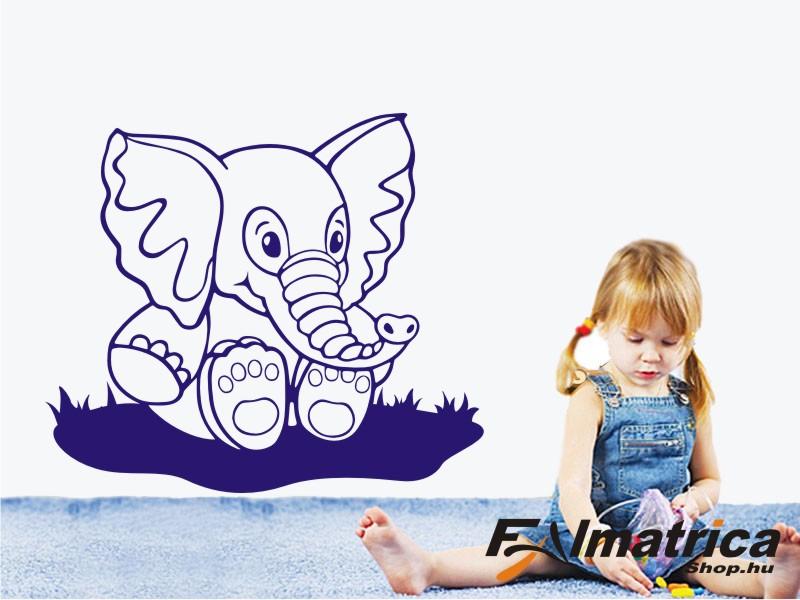 51. Elefántbébi falmatrica