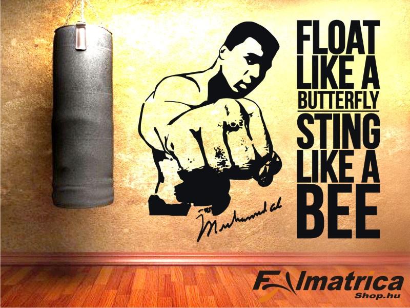 42. Muhammad Ali idézetes falmatrica