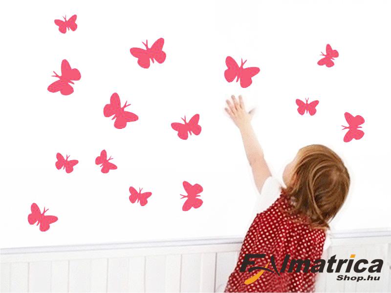 10. Pillangós <b>falmatrica</b> szett
