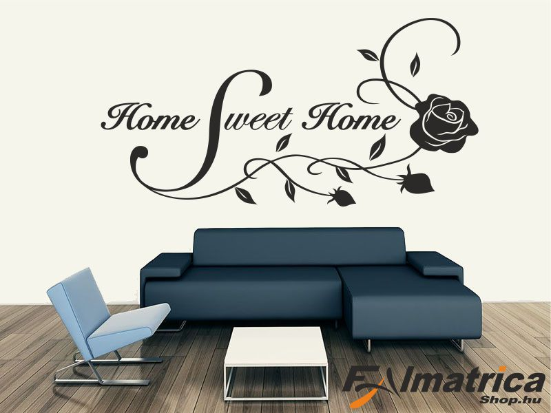 91.  Sweet home falmatrica rózsával