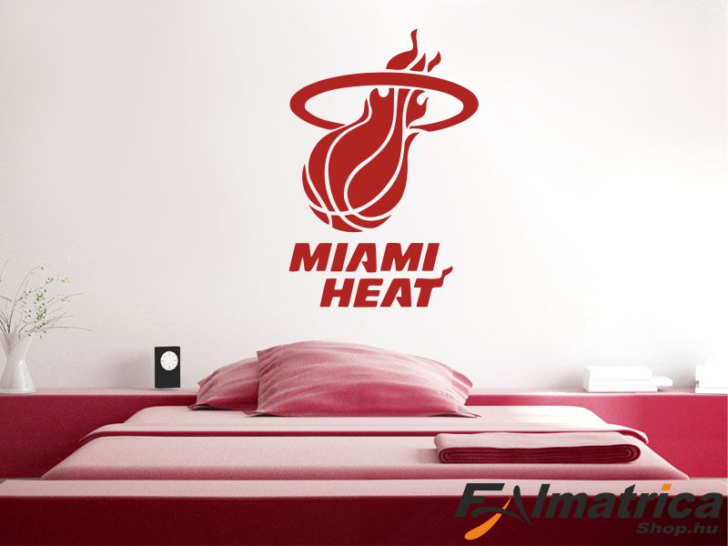 100. Miami Heat NBA kosaras - kosárlabda falmatrica