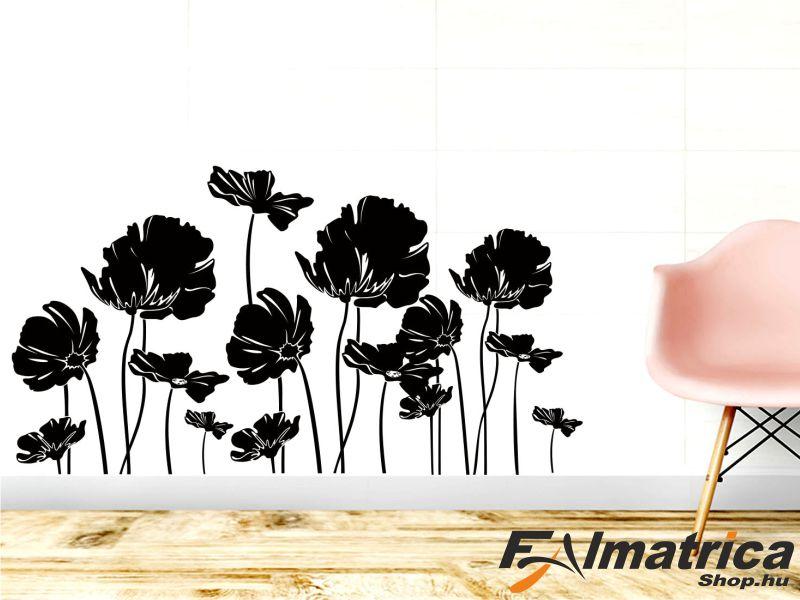 88. Virágos falmatrica