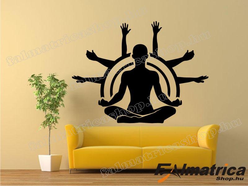 24. Meditáció falmatrica