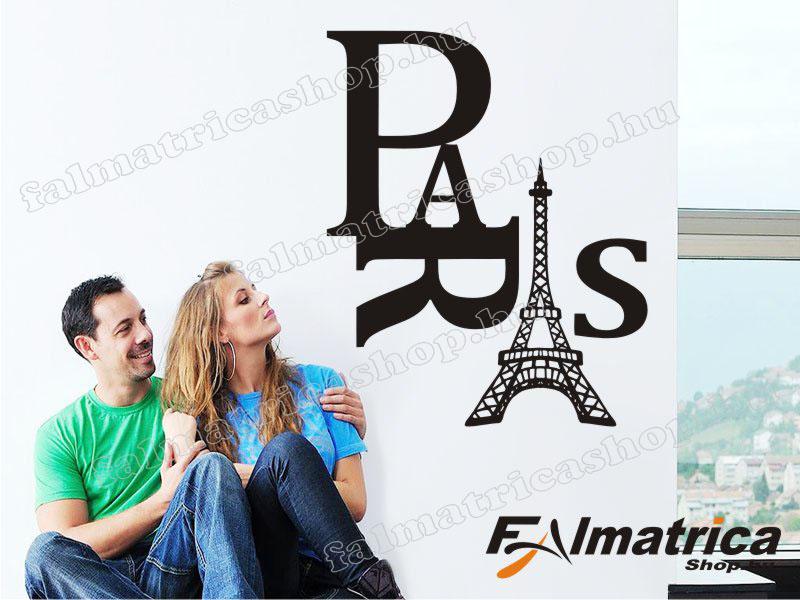 02. Párizs falmatrica