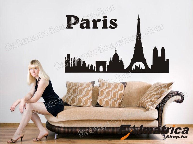 24. Párizs falmatrica