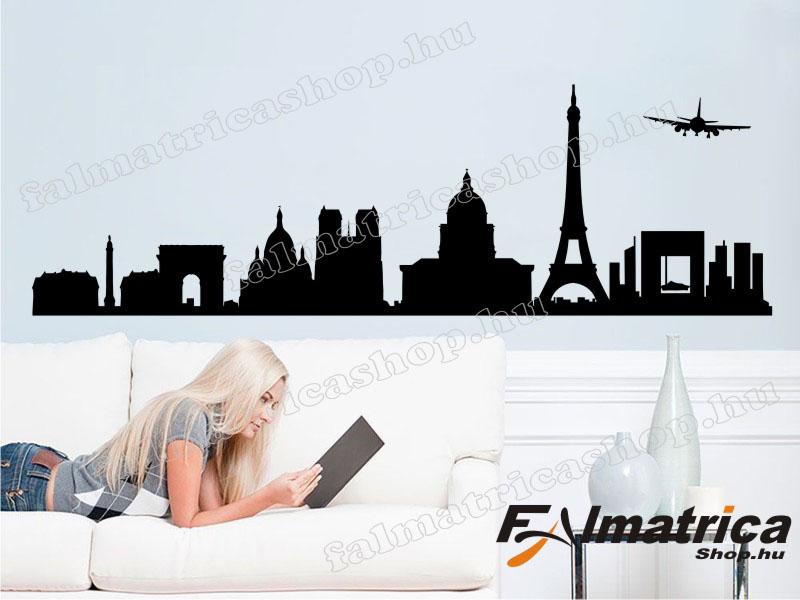 29. Párizs falmatrica