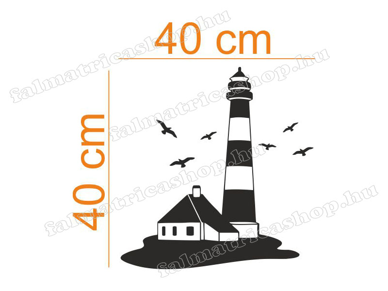 39. Világítótorony falmatrica