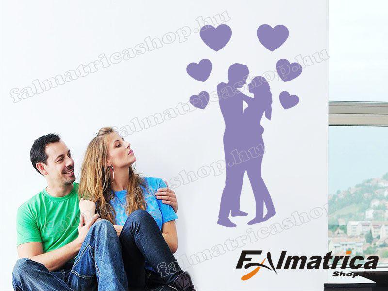 06. Love-szerelmes pár falmatrica