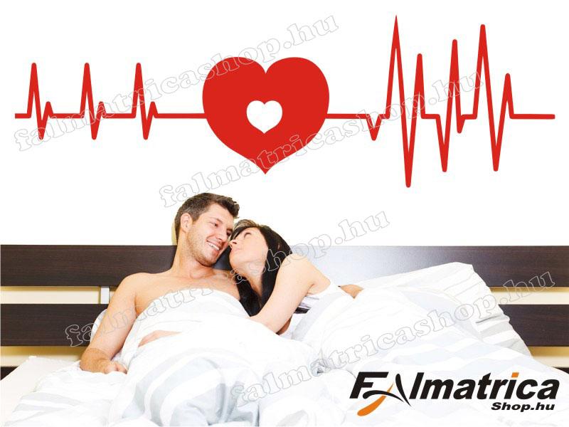 09. Szerelem-szívritmus falmatrica