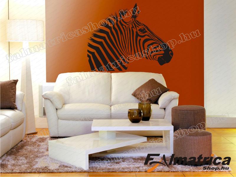 11. Zebrás falmatrica