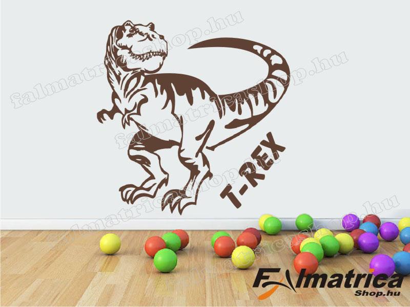 54. T-Rex dínó falmatrica
