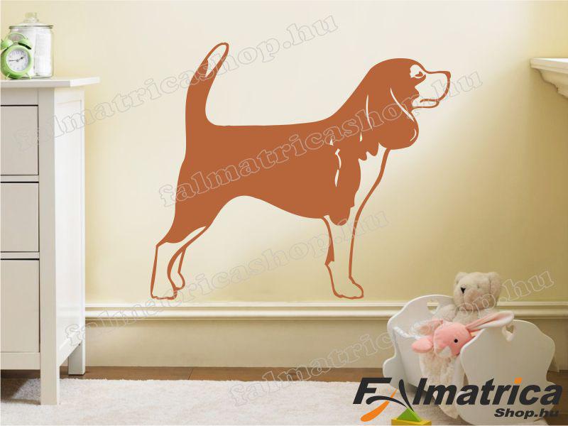 85. Beagle - kutyás falmatrica