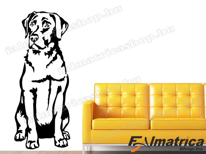 86. Labrador - kutyás falmatrica