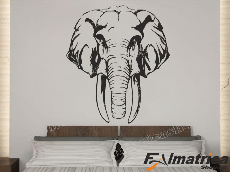 93. Elefánt falmatrica