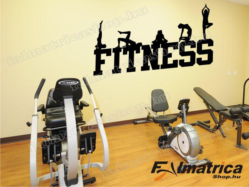 08. Fitneszes falmatrica