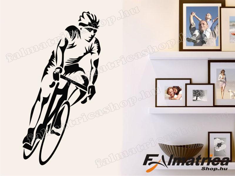 26. Biciklis - kerékpár falmatrica