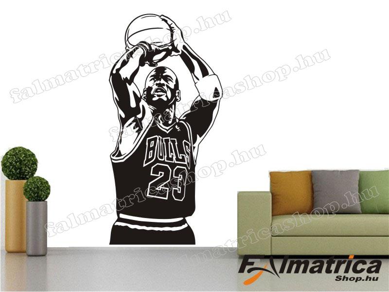 31. Michael Jordan NBA kosaras - kosárlabda falmatrica