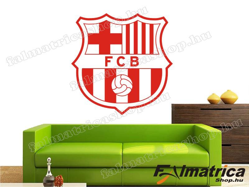 03. Barcelona címer falmatrica