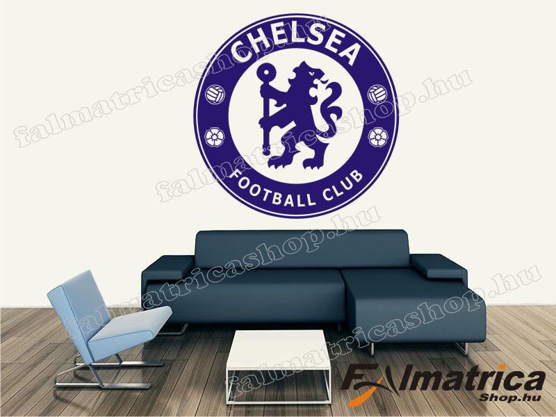 06. Chelsea címer falmatrica
