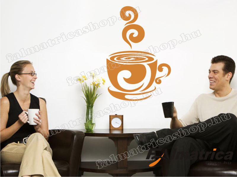11. Kávés falmatrica