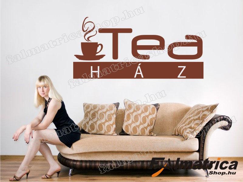 17. Tea ház falmatrica