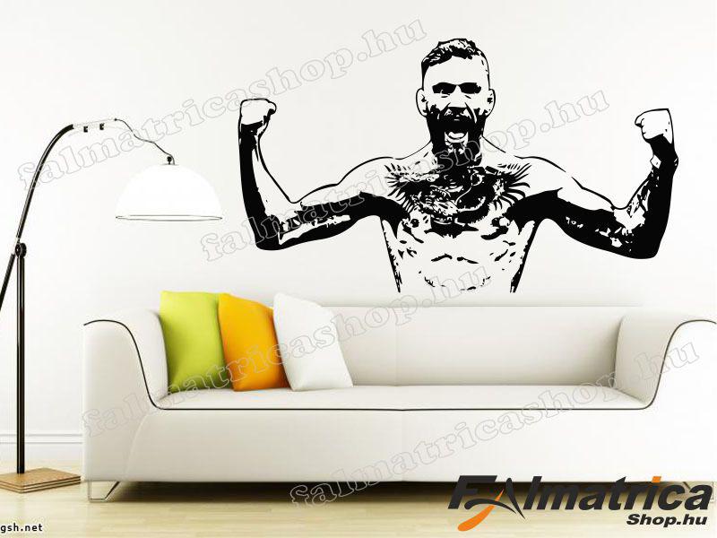 37. Conor McGregor MMA falmatrica