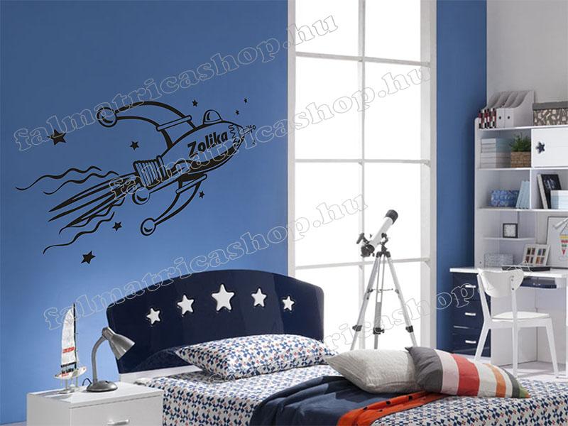 12. Űrhajós neves falmatrica