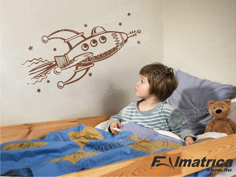 61. Űrhajós falmatrica