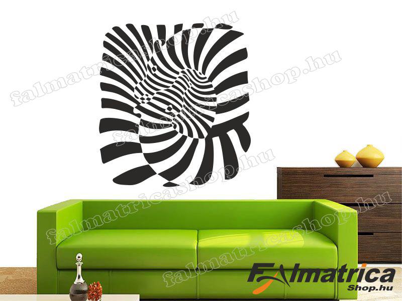 07. Modern zebrák falmatrica