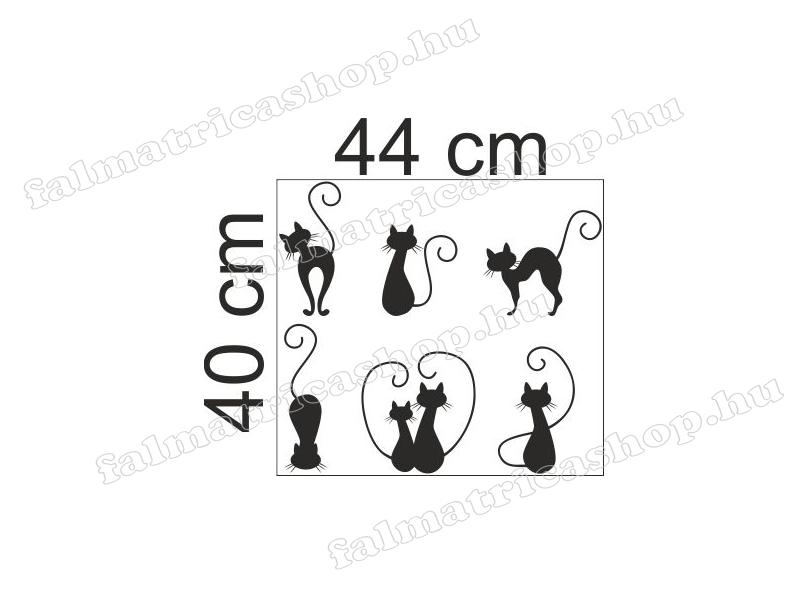 02. Cicák bútor matrica