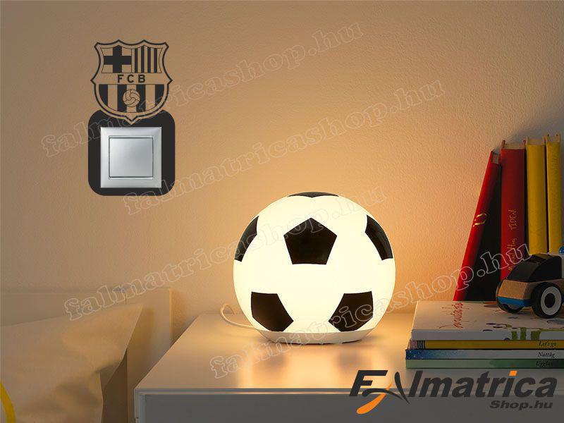 33. Barcelona villanykapcsoló matrica