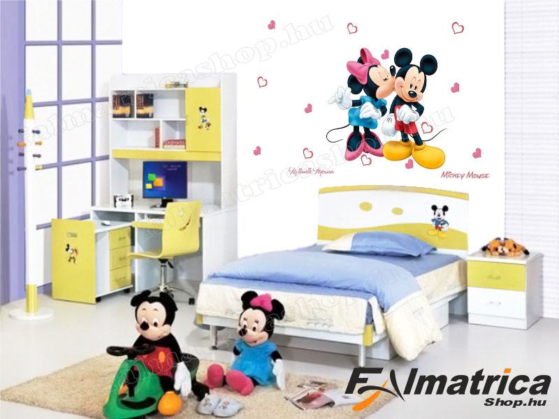 04. Minnie & Mickey egér falmatrica szett