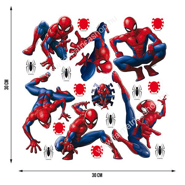 11. Pókember falmatrica szett